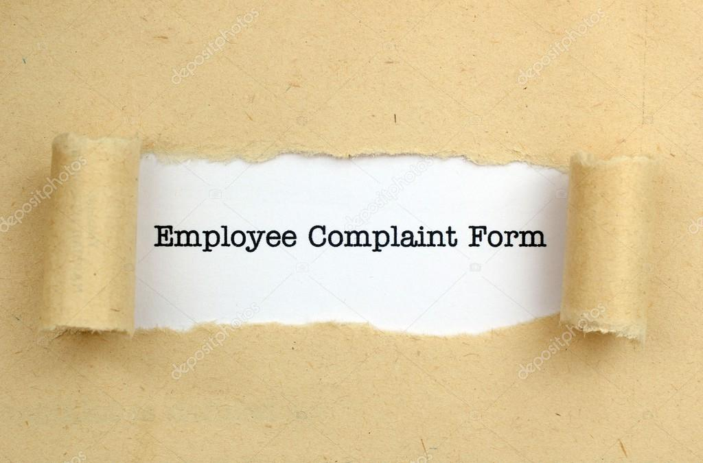 Employee Complaint Form — Stock Photo © Alexskopje #44672291