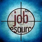 Job-ziel — Stockfoto