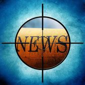News-ziel — Stockfoto