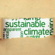 Sustainable climate concept — Stock Photo #45049843