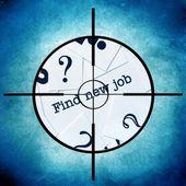 Find new job — 图库照片