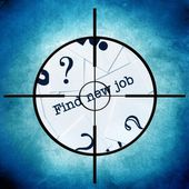 Find new job — Стоковое фото