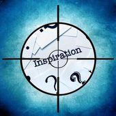 Inspiration target — Stock Photo