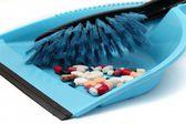 Pills trash — Stock Photo