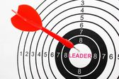 Leader target — Foto Stock