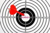 Obiettivo del sondaggio — Foto Stock