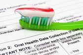 Oral health concept — Stock Photo