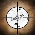 Analysis target — Stock Photo #49895939