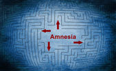 Amnesia — Stock Photo