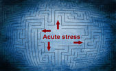 Acute stress — Stock Photo