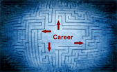 Notion de labyrinthe de carrière — Photo