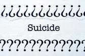 Suicide — Stock Photo