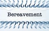 Bereavement — Stock Photo