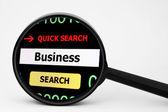 ビジネスを検索します。 — ストック写真