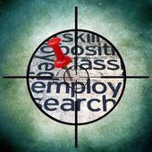 Employ target — Stock Photo