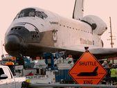 Shuttle Xing — Stock Photo