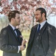 Groom and Best Man — Stock Photo
