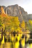 Yosemite Falls in Springtime — Stock Photo