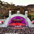 A concert at the world famous Hollywood Bowl under the Hollywood sign in Los Angeles, CA — Stockfoto