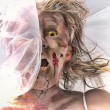 Veiled Zombie Bride — Stock Photo #29949659