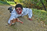 Crawling Zombie — Stock Photo