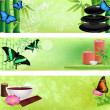 Royalty-Free Stock Vector Image: Set of Zen and spa backgrounds