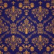 Luxury seamless pattern - Stock Vector