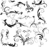 Floral patterns — Stockvector