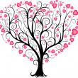 Love tree — Stock Vector #16872195