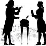 Постер, плакат: Classical musicians