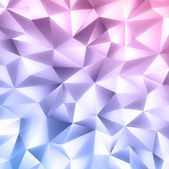 Abstract crystal colorfull background — Stock Vector