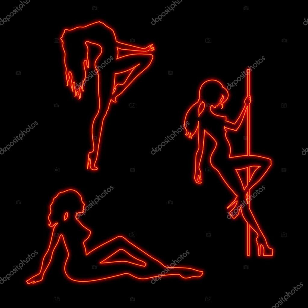 Черная танцует стриптиз