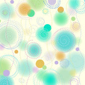Background with circles — Stock Vector