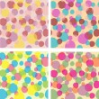 Vector de stock : Colorful bubbles
