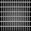 Stock Vector: Prison grid on black