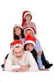 Multitud de navidad — Foto de Stock