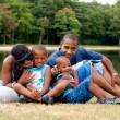 African family - Stock Photo