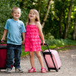 Children on vacation — Stock Photo #12591244