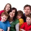 Stock Photo: Sweet colorful family