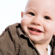 Laughing baby boy — Stock Photo