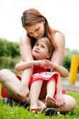 Mother and her daugther — Stock Photo