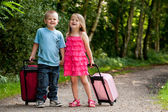 Children on vacation — Stock Photo