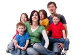 één grote familie — Stockfoto
