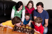 Family is gaming — Stock Photo