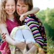 Stock Photo: Happyness mother and daugther