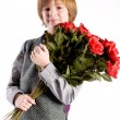 Young valentine boy — Stock Photo
