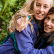 Sweet girlfriends - Stock Photo