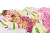 2 sleeping children — Stock Photo