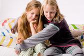 депрессии сестра — Стоковое фото