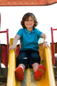 Young boy on the playground — Stock Photo
